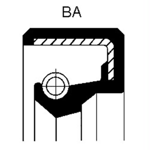 Wellendichtring Schaltgetriebe Corteco 19016548B