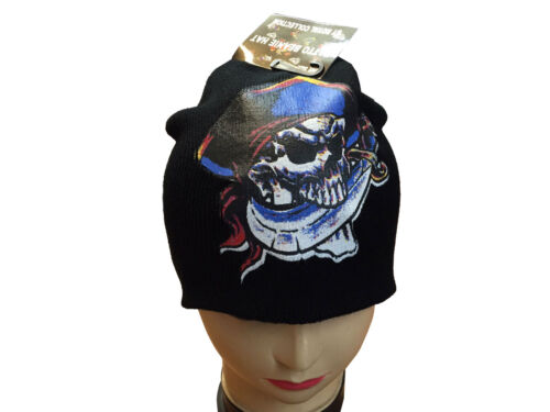Unisex Adults BEANIE Hat HEART Skull Dragon Tattoo Snow Winter Warm Xmas Hats