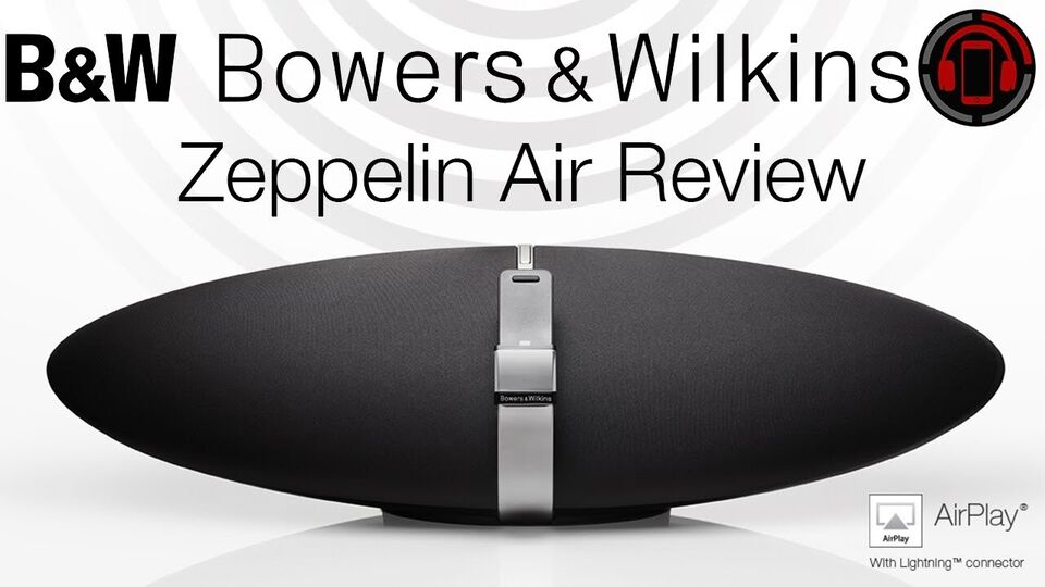 Docking-station, bowers & wilkins, zeppelin air