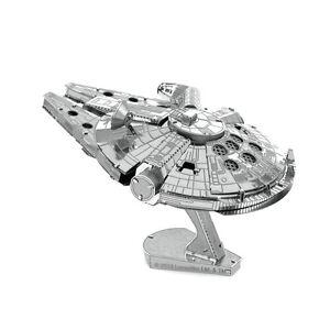 Metal-Earth-3D-Laser-Cut-Steel-Model-Kit-Star-Wars-Millenium-Falcon-2-Sheets