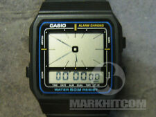 CASIO AE-11W-1A Module 694 Alarm CHRONO Water 50M resist LC analog watch
