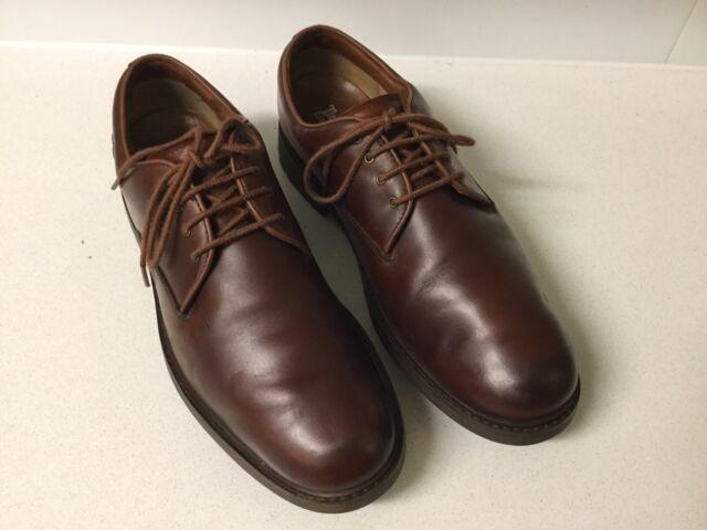 Timberland Mens Stormbuck Plain Toe Brown Waterproof Oxford Shoe us 7