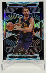 2019-2020 Panini Obsidian NBA Kevin Love FOTL Electric Etch Blue #'d /16 SSP