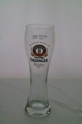 Erdinger Weissbier German Half Pint Beer Glass