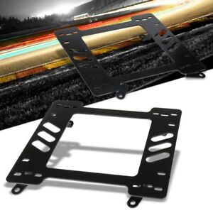PAIR FIT FOR 82-92 PONTIAC FIREBIRD HEAVY DUTY 5mm RACING SEAT BRACKET ADAPTER