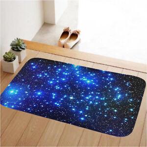 Blue Galaxy Nonslip Doormat Indoor Inside Carpet Kitchen Floor Mat