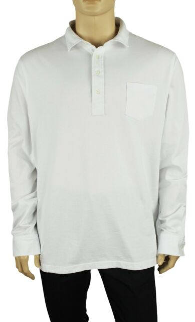 New XXL 2XL POLO RALPH LAUREN Mens short sleeve oxford cotton shirt white top 2X