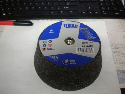 "TYROLIT 6/"" x 2/"" x 5//8/""-11 Flaring Cup Wheel 16 Grit #20006824"