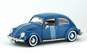 1955-Volkswagen-Kafer-Beetle-1-18-Model-Car-Maisto-Special-Edition-New