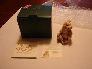 1-HARMONY-KINGDOM-Treasure-Jests-Fragonard-PIG-Made-In-UK-New-In-Box