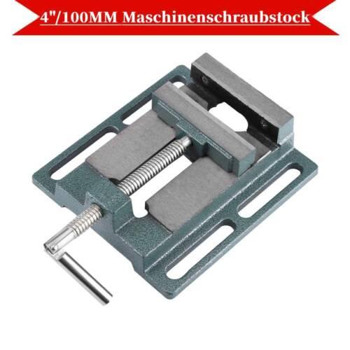 """4/"""" Präzisions Maschinenschraubstock 100mm Schraubstock Werkbank SS 03"""