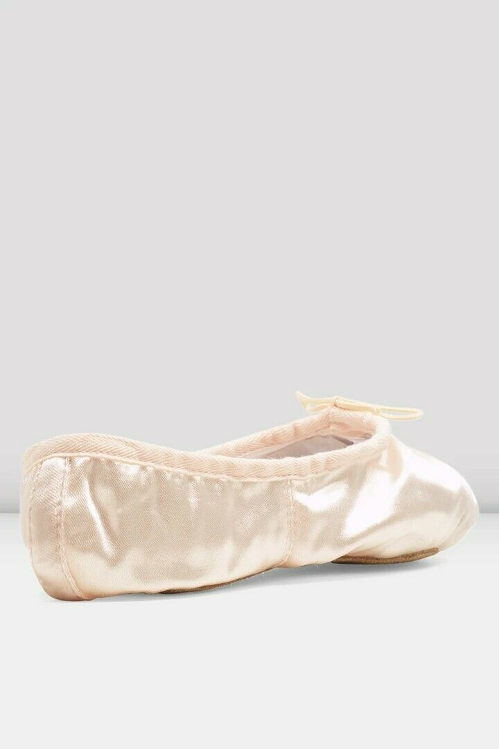 Bloch Debut SO232 pink satin ballet shoes C Fitting Size 4 (Small fitting)