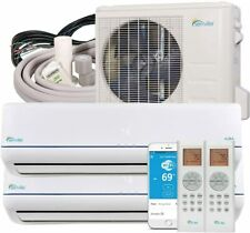 Senville 18000 BTU Dual Zone Mini Split Air Conditioner Ductless Heat Pump