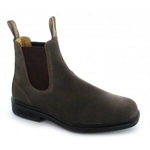 Men S Blundstone Elastic Side Pull On Boot With Square Toe