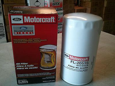 Powerstroke 6.7 Diesel Motorcraft Oil Filters FL2051S