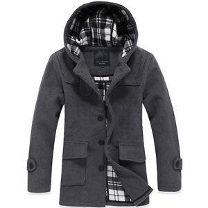 MENS-winter-warm-hooded-wool-hoody-long-jacket-coat-Outerwear-overcoat-trench