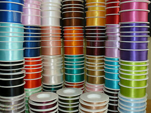 CUT-Double-Sided-SHINDO-SATIN-Quality-Tying-Ribbon-Wedding-Crafts-1-2-3-Metres