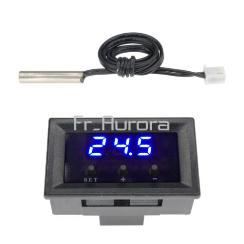 DC 12V Thermostat W1209 Digital Temperature Controller Sensor Switch 50~110°C