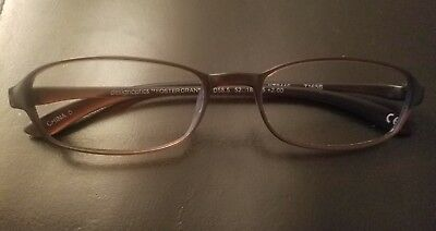 4be005c7ba Design Optics Foster Grant Brown Frames without Lenses Frame for Glasses
