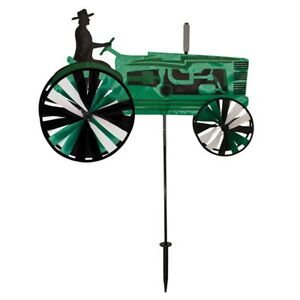 Green-Large-Farm-Tractor-Staked-Wind-Spinner-With-Pole-amp-Mount-24-ITB-2504