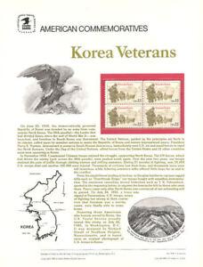 246-22c-Korean-War-Veterans-2152-USPS-Commemorative-Stamp-Panel