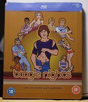 Boogie Nights Blu-ray Steelbook Uk Version+region Free Factory Sealed