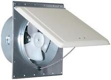Mobile Home Trailer 110V Sidewall Exhaust Vent Fan White/Mill Ventline V2215-11