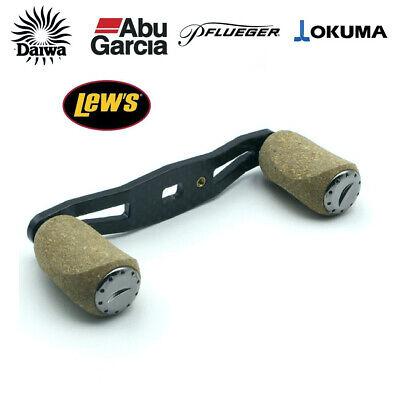 Shimano Daiwa Abu Garcia Lew/'s Quantum reel carbon fiber handle EVA knob 106mm