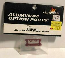 Dynamite DYN8005 FR Bumper Aluminum Option Parts Losi Mini-T