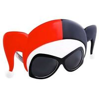 Harley Quinn Mask Dc Comics Officially Licensed Costume Sunglasses on sale
