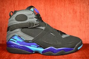newest collection a576e 7919b Image is loading NEW-Nike-Air-Jordan-Retro-8-VIII-Aqua-