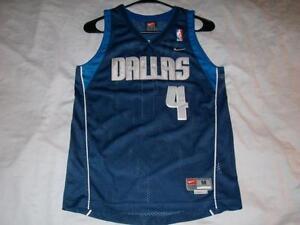 79e223c162af Michael Finley 4 Dallas Mavericks Blue NBA Nike Sewn Jersey Boy s ...