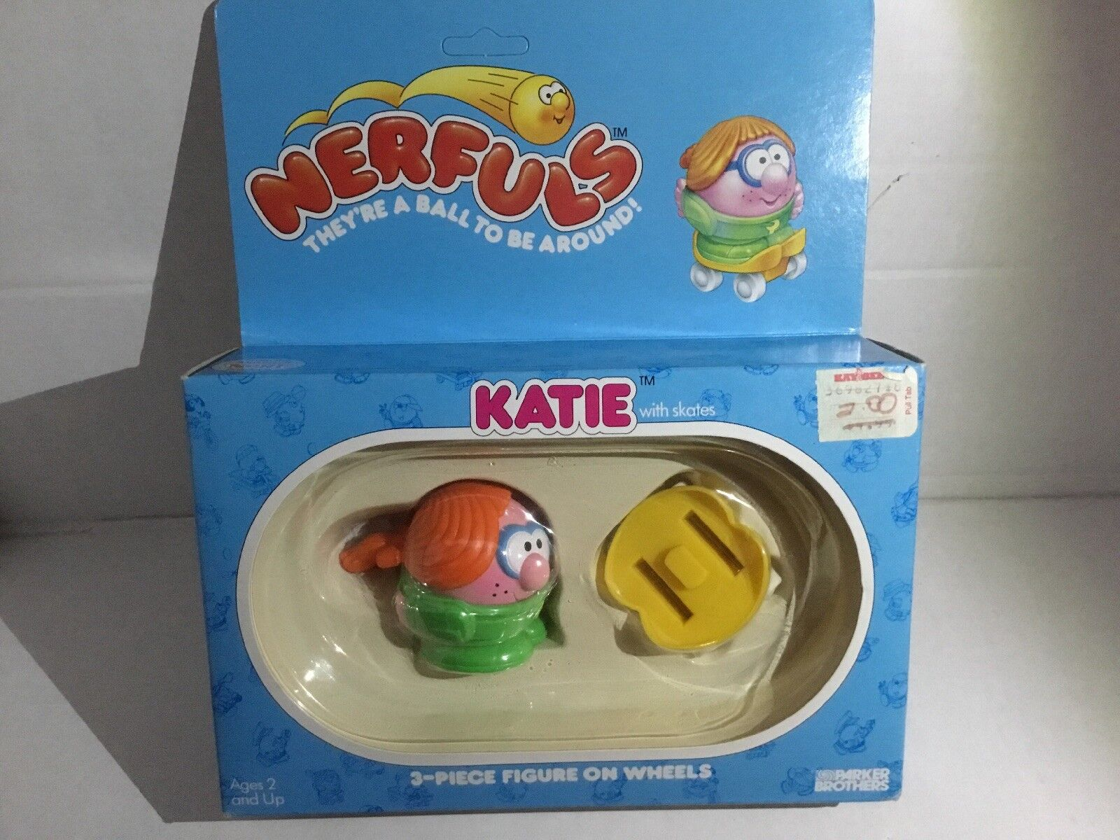 Vintage 1985 Parker Bredhers Nerfuls KATIE Figure MOC New In In In Box Sealed VHTF ddec89