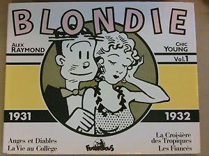 BD-BLONDIE-1931-1932-VOL-1-EDITION-ORIGINALE-09-1982-TRES-BON-ETAT