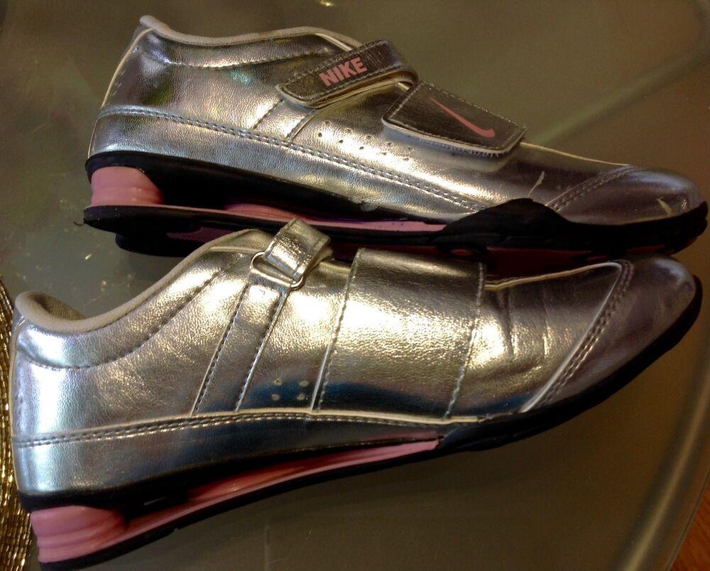 Rare Pièce unique: Vintage NIKE Shox Véritable Cuir Sneaker Taille 40 Argent Neuf ❗- Chaussures de sport pour hommes et femmes