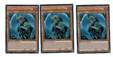 3 x Schicksals-HELD - Dark Angel DESO-DE005 1. Auflage, Secret Rare
