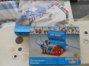 Kit compresseur Fischertechnik Pneumatics # Les deux emballés d'origine