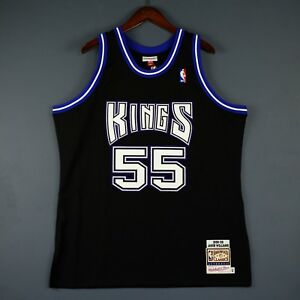 best sneakers 11dc3 6f4f9 Details about 100% Authentic Jason Williams Mitchell Ness 98 99 Kings  Jersey Size 52 2XL Mens