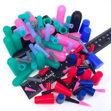 98pc Masking Kit Assortment High Temp Silicone Powder Coating Plugs Caps Paint
