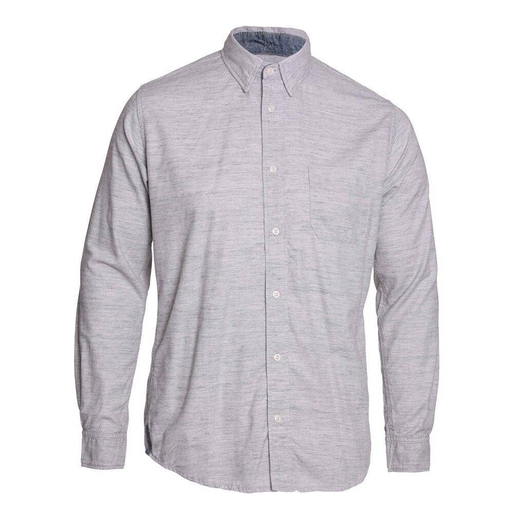 Edwin Denim Long Sleeve Captain Shirt