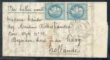FRANKREICH 1870 BALLONPOST ARMAND BARBES nach den NIEDERLANDEN(E7243b