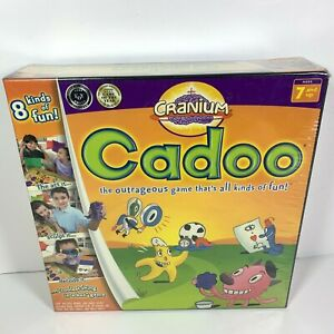 Cadoo-Cranium-Board-Game-2004-NEW-SEALED-Cards-Board-Game-Fun