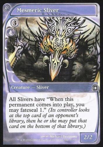 Mesmeric Sliver Near Mint Normal English Magic Card Futuresight MTG TCG