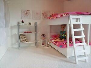 Letto A Castello Per Bambole.1 6 Scala Bambola Dimensioni Letto A Castello Per Bambole Barbie