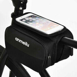 Cycling-Bike-Bicycle-Front-Top-Tube-Frame-Pannier-Double-Bag-Pouch-Phone-Holder
