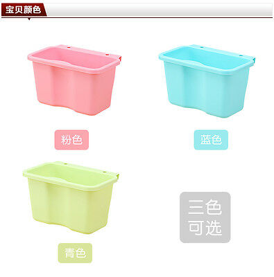 New Kitchen Cabinet Door Hanging Trash Garbage Bin Can Rubbish Container TOP