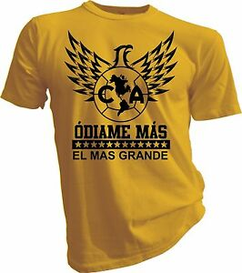 eefb3540bb0 Image is loading Club-America-Mexico-Aguilas-Camiseta-Jersey-T-Shirt-