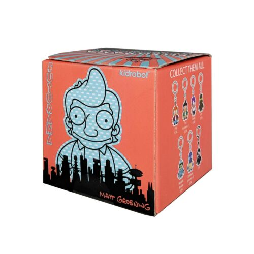 Kidrobot Futurama Inverse X2 Blind Box Mini Figure Keychain 4 Blind Boxes NEW