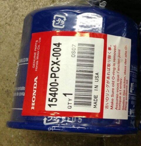 Genuine Honda Oil Filter 15400-PCX-004