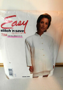 Oop-McCalls-7394-stitch-n-Save-Tunic-and-pencil-Skirt-size-8-14-NEW
